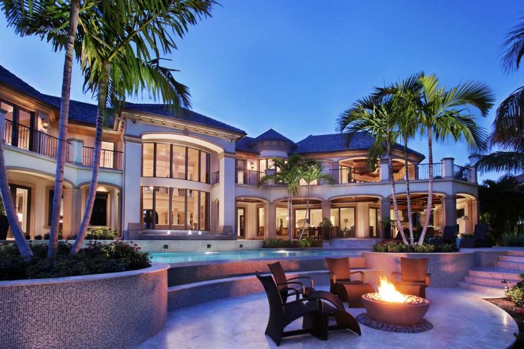 Waterfront Estate Home in Port Royal | Naples Florida ...