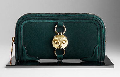 Owl Burberry Clutch